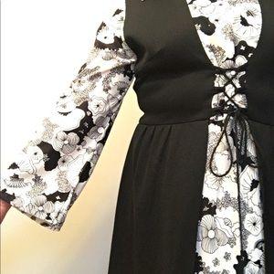 Amazing vintage boho dress!